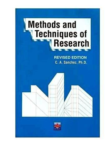 Methods of Research (Calderon & Gonzales) | Scientific