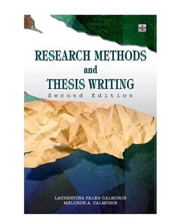 master thesis research methods Research methods: the basics  extract from her phd thesis,  nature of research and the methods which are used to undertake a.