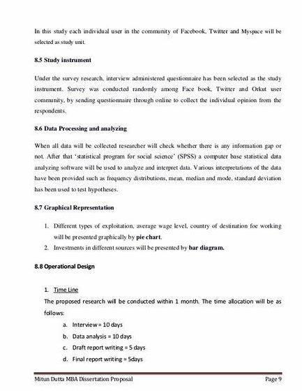 dissertation proposal template Dissertation Help