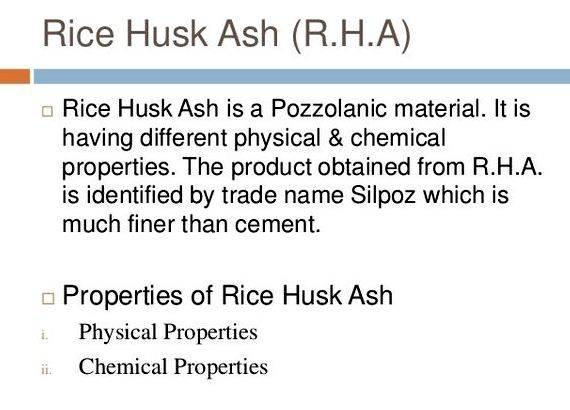 rice husk ash concrete thesis Pozzolanic reaction mechanism of rice husk ash in concrete pozzolanic reaction mechanism of rice husk ash in concrete msc thesis, universiti teknologi.