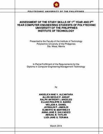 thesis proposal in computer engineering Northeastern university department of electrical and computer engineering ph d dissertation proposal review form (please complete, get the signatures,.