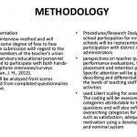research methodology samples