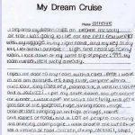 my dream essay sample