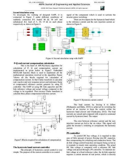 active filter thesis Power quality improvement in 3 – phase system using shunt active filter a thesis submitted in partial fulfillment of the requirements for the degree of.