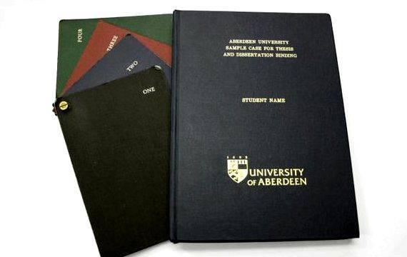 Purchase a dissertation binding