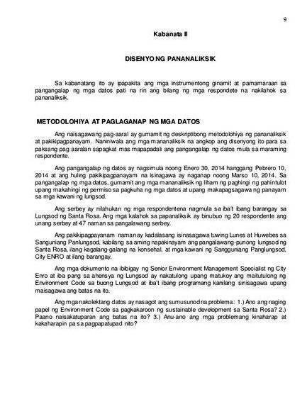 Pahina ng pamagat thesis - Release course-plotting