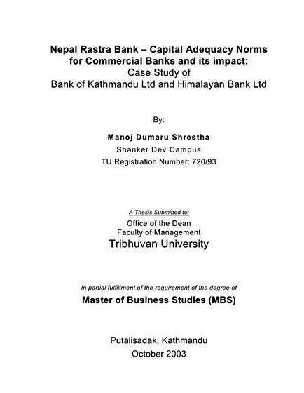 thesis nepal Order a master's degree thesis or dissertation of excellent quality from established custom writing company let our writers provide you with professional master's thesis writing help online.