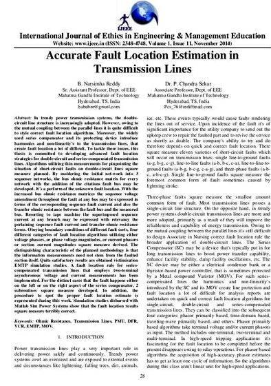 Transmission line protection thesis proposal to protect the transmission and