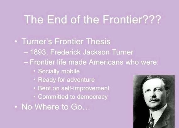 turners fronteir thesis Quizlet provides frederick jackson turner, frontier thesis activities, flashcards and games start learning today for free.