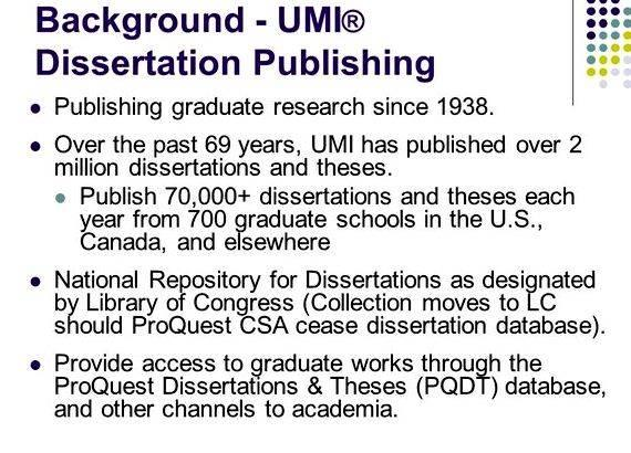 publishing dissertation online How to cite a dissertation 1) are dissertations published or unpublished – and how can i tell the difference 2) how should i cite a dissertation or thesis published by.