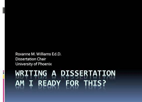 """How will I write my dissertation?"""
