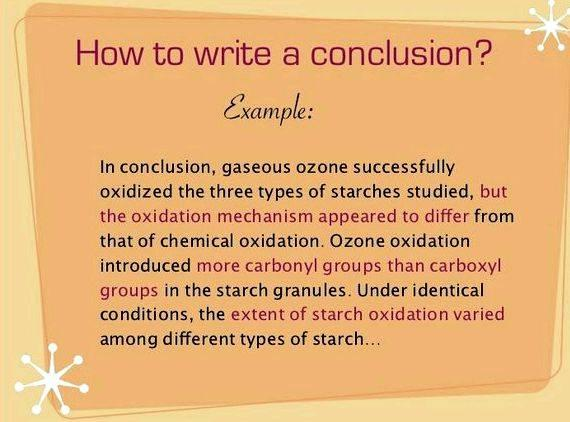 Academic essay writing good conclusion