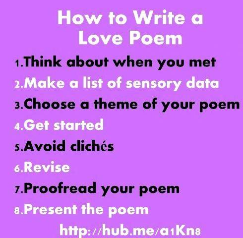 help writing a love poem Most writers on love – whether cultural transmitters or universalists  does help  to account for the comparative scarcity of 'marital' love poetry.
