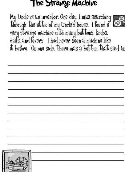 KS2 Writing Tasks