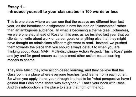 Perfect introduction for an essay