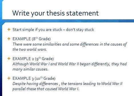 what is tentative thesis statement Writing an effective thesis statement  tentative thesis statement, but changing and refining a thesis is a natural product of research and.