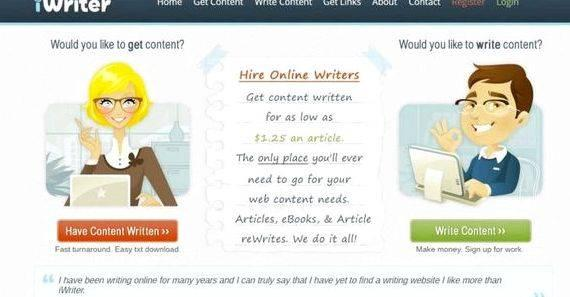 Get paid to write articles about children