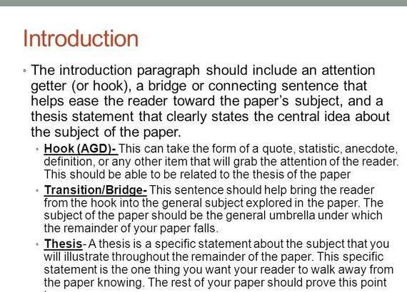 writing an essay introduction pdf