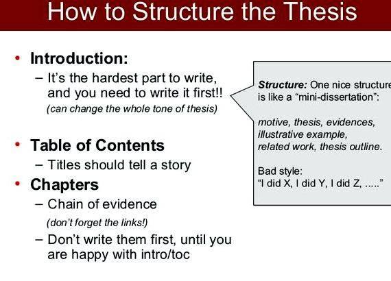 Publishing your Thesis