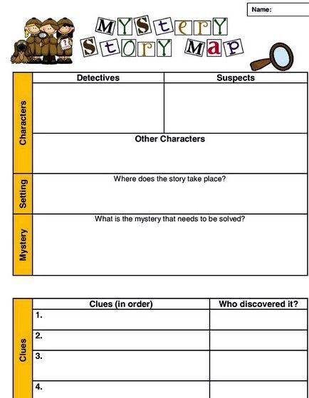 writing a mystery lesson plan