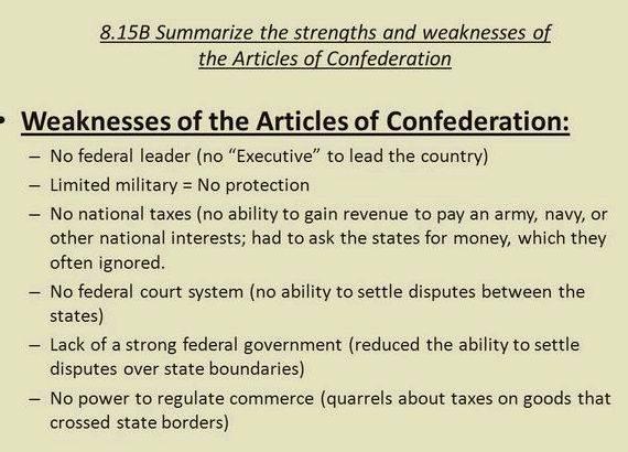 Articles of confederation essay help