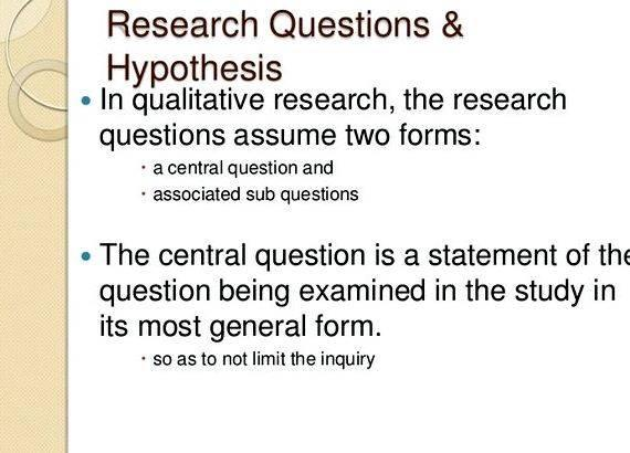 Short Explanation How To Write A Hypothesis