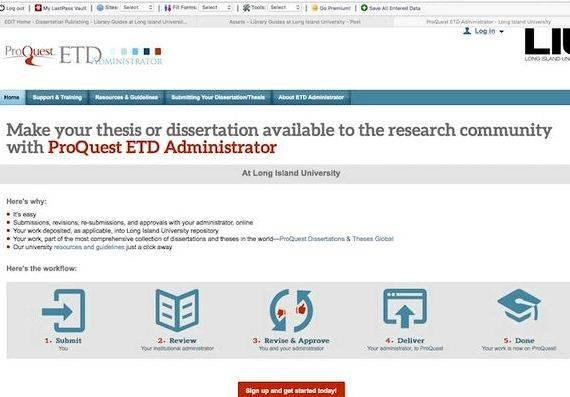 search dissertations umi