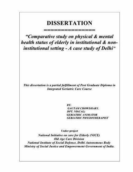 Dissertation proposal service vs prospectus