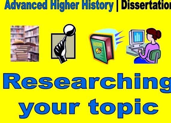 Dissertation help history