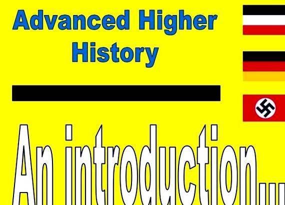 Advanced higher history dissertation help