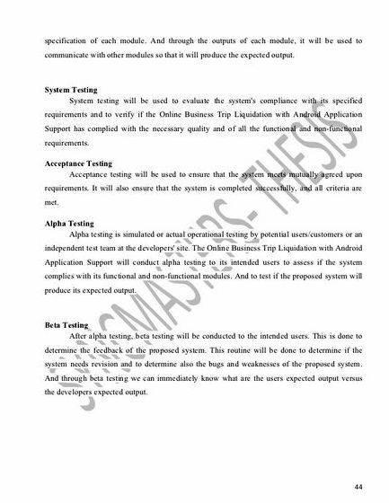 Alumni tracer system thesis proposal Learning online