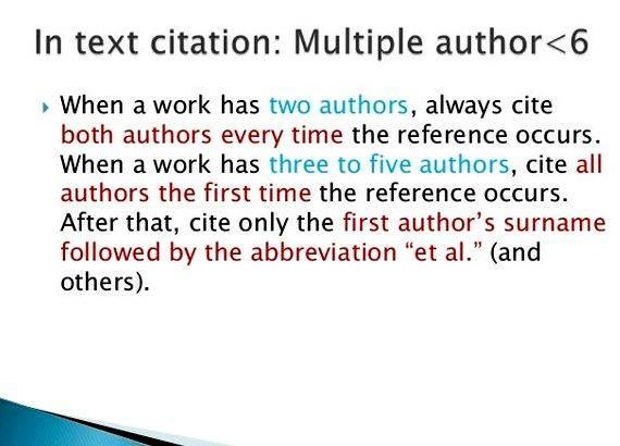 American style of reference writing for thesis No abbreviations in