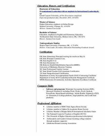All but dissertation resume