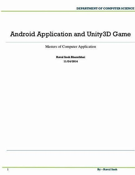 Android game thesis title proposal on education in Mix-Platform Messaging