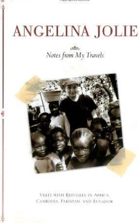 Angelina jolie notes from my travels summary writing number one role within the