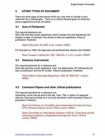 Anglia ruskin university harvard reference system dissertation the College