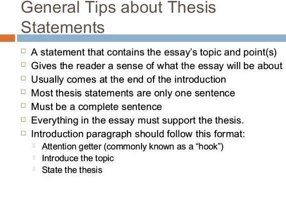 Arguable thesis definition in writing essay that students can start