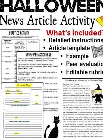 Article about newspaper writing activities It may be useful