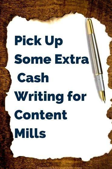 Article writing companies that pay cash when you really need to
