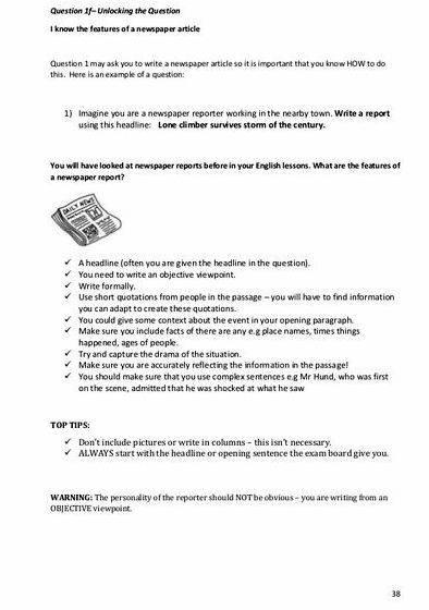 Article writing tips igcse cambridge highly relevant to your