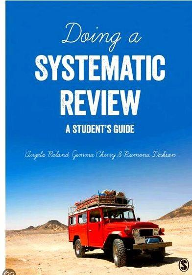 Articles on writing a systematic review Systematic Review