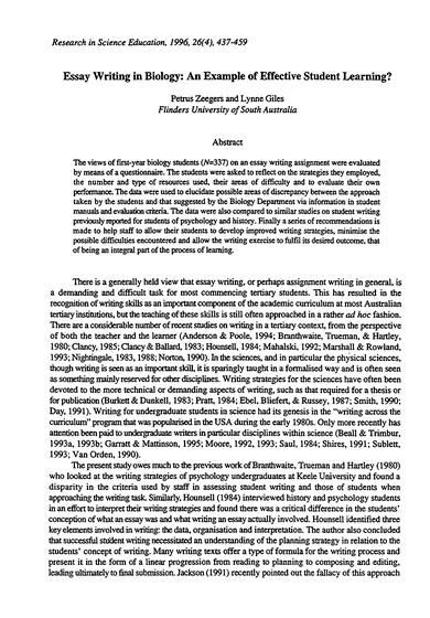 Baby thesis sample topics for technical writing of the technical research