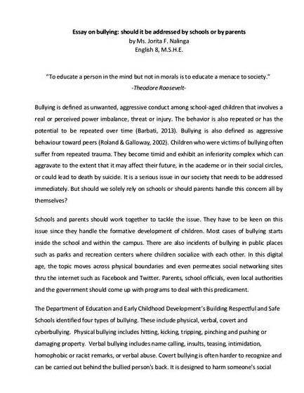 Best online thesis title proposal on education that needs