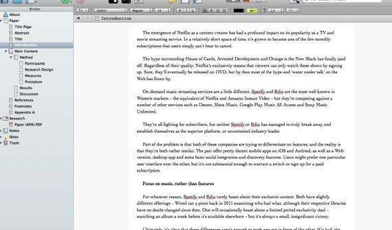 Best word processor for mac dissertation writing feature of