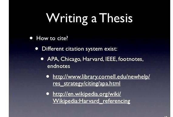 Bibtex masters thesis
