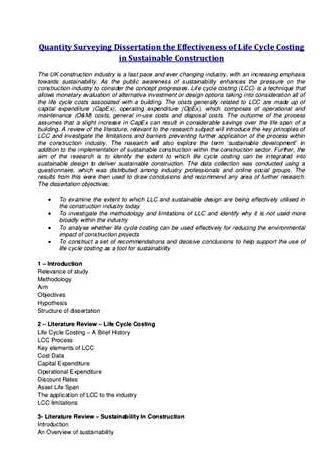 Bim and qs dissertation proposal Dissertation proposal are you currently