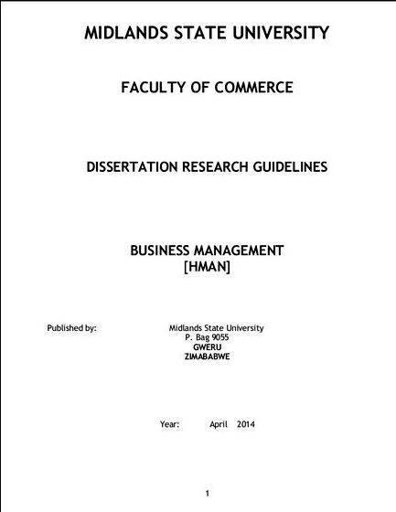 Business dissertation com