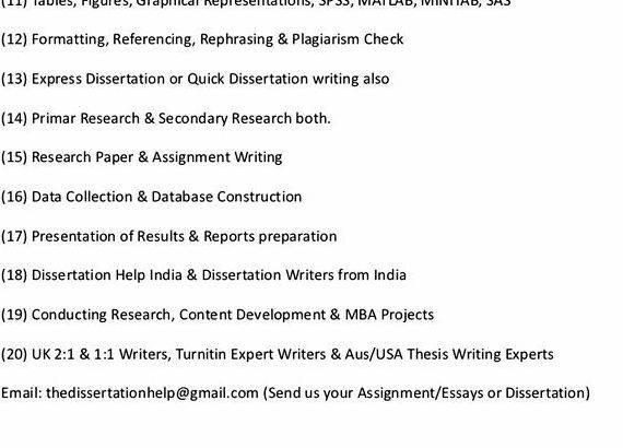 Business research dissertation proposal