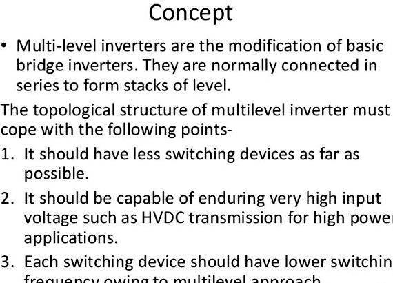 Multilevel inverter thesis
