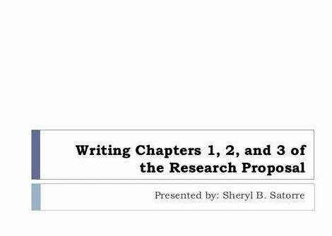 Chapter 3 of dissertation writing self-designed